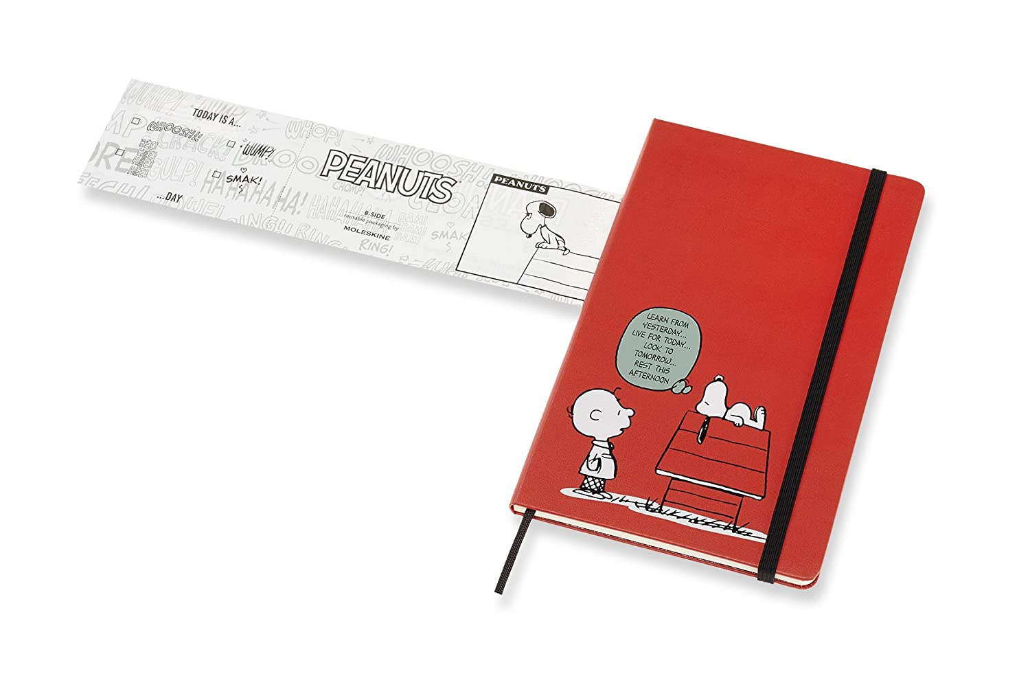 Moleskine Limited Edition Peanuts 12 Month 2019 Daily Planner, Hard Cover, Large (5