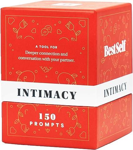 BestSelf Intimacy Deck – 150 atractivos iniciadores de conversación para parejas para fortalecer su relación, romance, confianza, apertura y vulnerabilidad – mejor juego de cartas para pareja para regalo romántico: Amazon.es: Oficina