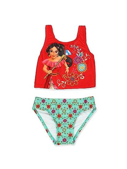 03ada3309a Amazon.com: Disney Elena of Avalor Girls Swimwear Swimsuit (Little Kid/Big  Kid): Clothing