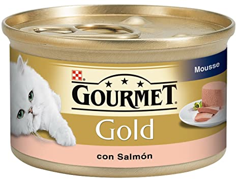 Purina C-70090 Gold Mousse Salmon - 85 gr