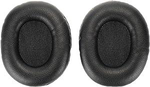 WEWOM 2 Almohadillas de Repuesto para Cascos de Turtle Beach Ear Force XO7 & Recon 50, Negro