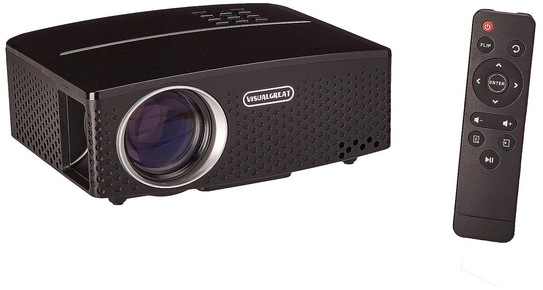SeoJack [2019 Upgrade] Mini proyector, proyector de Cine en casa ...