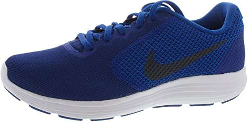 978d7b66b7f9 NIKE Men s Blue Revolution 3 (GS) Running Shoes  Buy Online at Low ...
