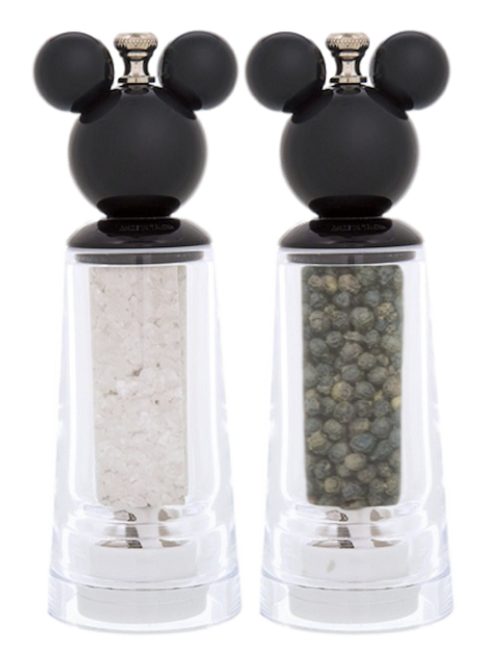 Disney Parks Mickey Mouse Acrylic Salt & Pepper Grinder by Disney Parks