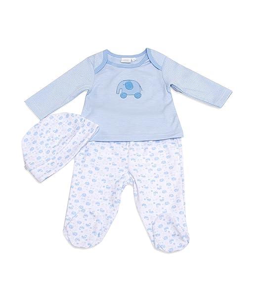 Mini Vanilla London - Pijama con estampado para bebé, talla 3-6 Months -