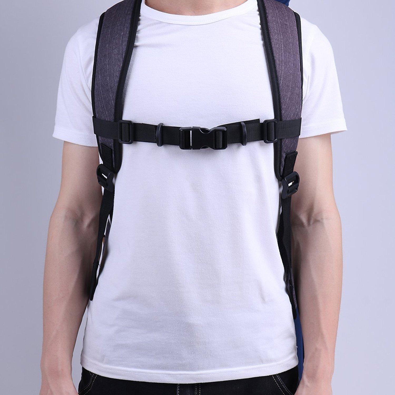 Myhonour Brustgurt f/ür Schulranzen Verstellbarer Rucksack mit Brustgurt und Schnalle zum Wandern und Joggen
