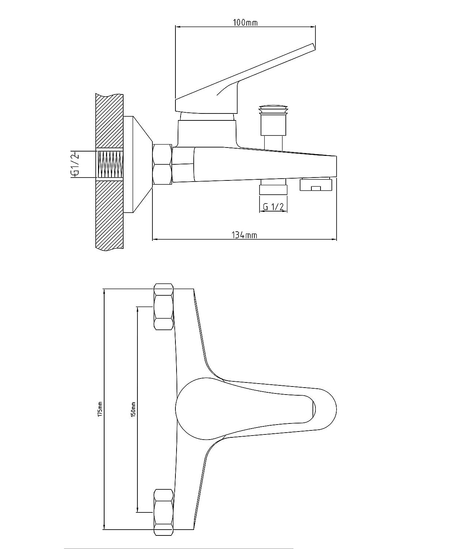 36V 10Mm LED Voyant DAvertissement du Tableau De Bord Van Voyant du Panneau De Tableau De Bord 011 C-FUNN 12//24