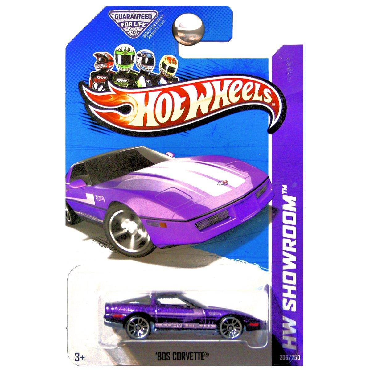 Hot Wheels 2013 HW Showroom 80s Chevrolet Chevy Corvette Purple