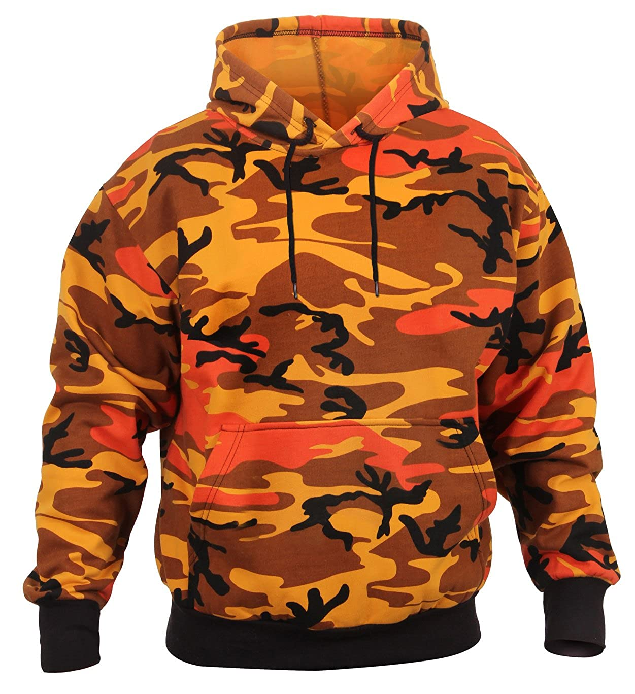 0280f392 Amazon.com: Rothco Camo Pullover Hooded Sweatshirt: Clothing