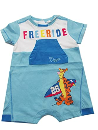 b7e26897ab2ac BNWT Original Disney Tigger surfing all in one romper play suit FREE UK  POSTAGE (6-9 months): Amazon.co.uk: Clothing
