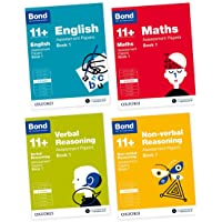 Bond 11+: English, Maths, Non-verbal Reasoning, Verbal Reasoning: Assessment Papers: 9-10 years Bundle