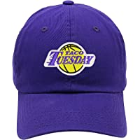 TOP LEVEL APPAREL Taco Tuesday Lakers Logo Embroidered Low Profile Soft Crown Unisex Baseball Dad Hat