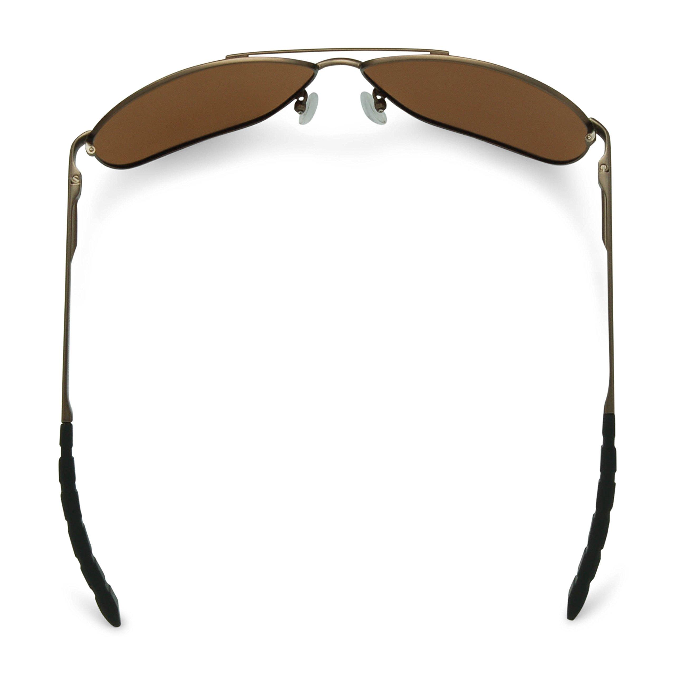 Flying Fisherman 7816CA Highlander Polarized Sunglasses, Copper Frame, Amber Lens