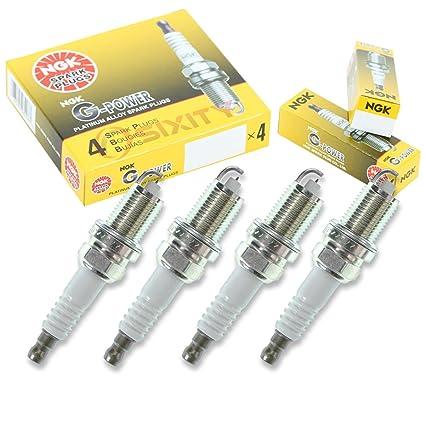 Amazon.com: NGK G-Power 4pcs Spark Plugs Honda Civic 92-95 1.5L L4 D15B7 Kit Set Tune Up: Automotive