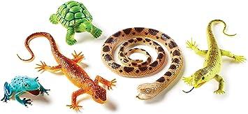 Learning Resources- Reptiles y Anfibios Jumbo, Color (LER0838): Amazon.es: Juguetes y juegos