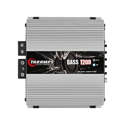 Taramp's BASS 1200 1 Ohm 1.2K Watts Class D Full Range Mono Amplifier