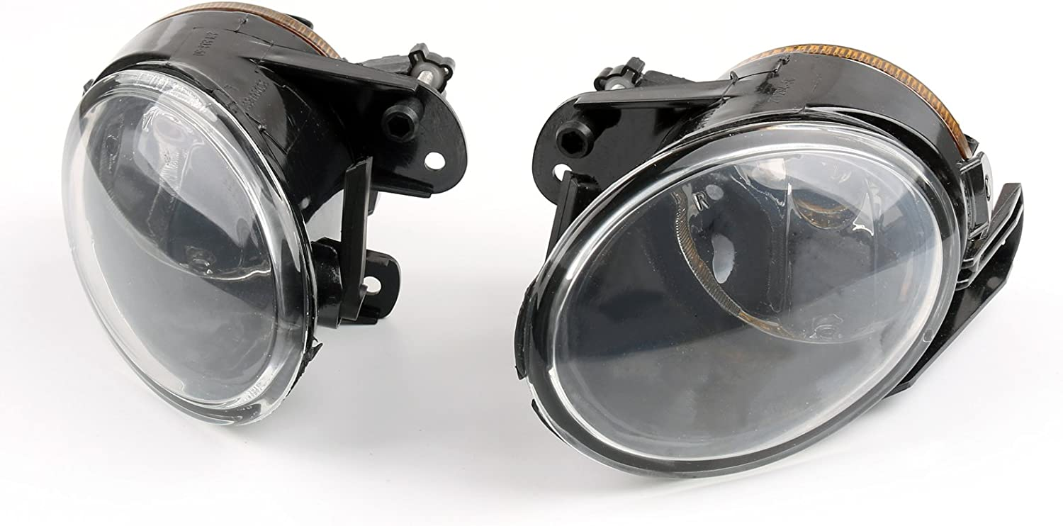 Areyourshop 1Pair Front Clean lens Fog Lights Fog Lamps For Passat B6 3C2 3C5 2006-2010