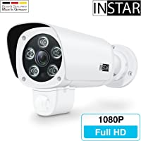 INSTAR IN-9008 Full HD wetterfeste LAN / WLAN Überwachungskamera bzw. IP-Kamera