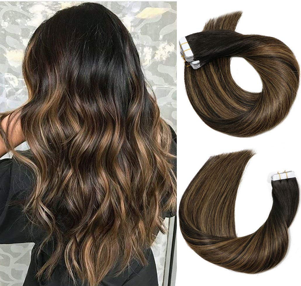 VARIO Hair quality assurance Tape In Extensions 20pcs Popular 50g Set Human Per