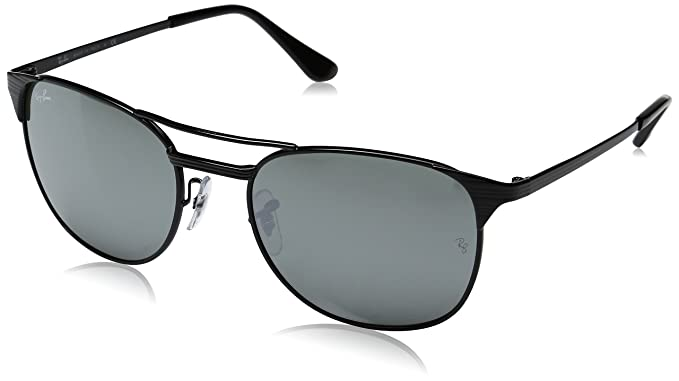 5abfa69c47 Image Unavailable. Image not available for. Color  Ray-Ban Men s Metal Man  Sunglass Square