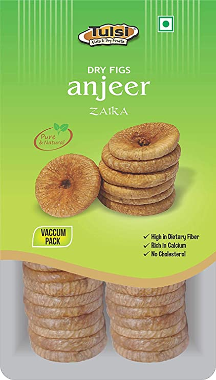 Tulsi Dry Figs Anjeer Zaika, 500g: Amazon.in: Amazon Pantry