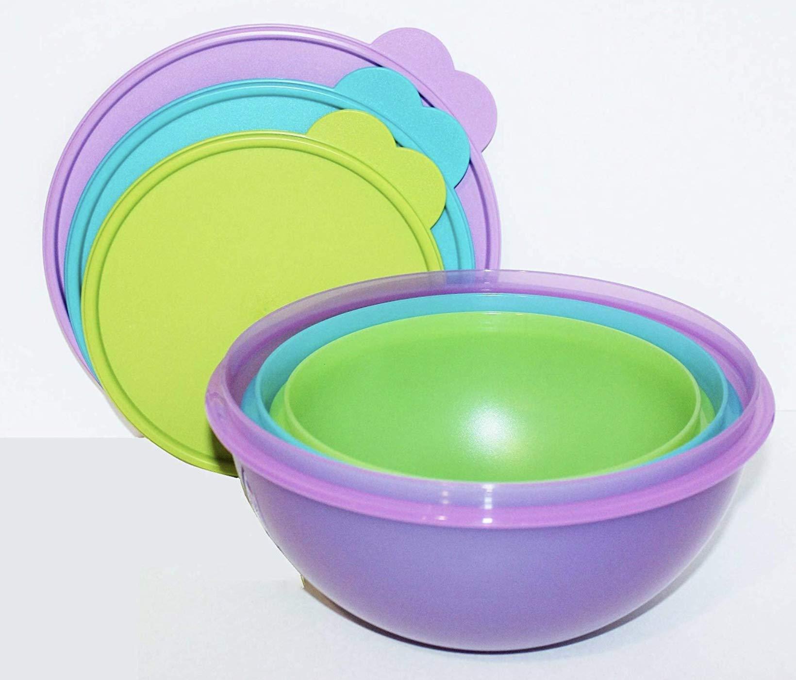 Tupperware Wonderlier Bowl Set Newest Color