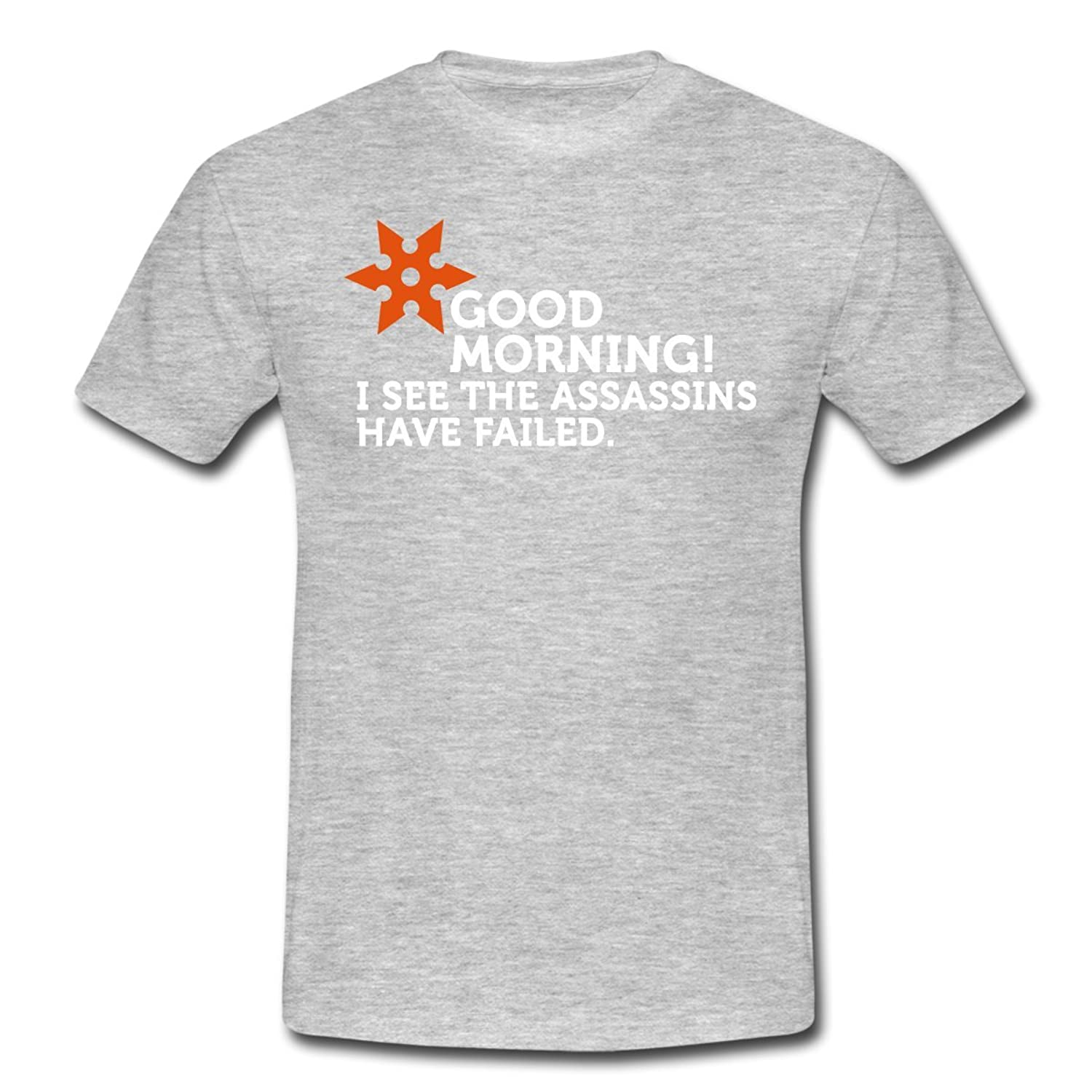 Good Morning Men's T-Shirt by Spreadshirt??