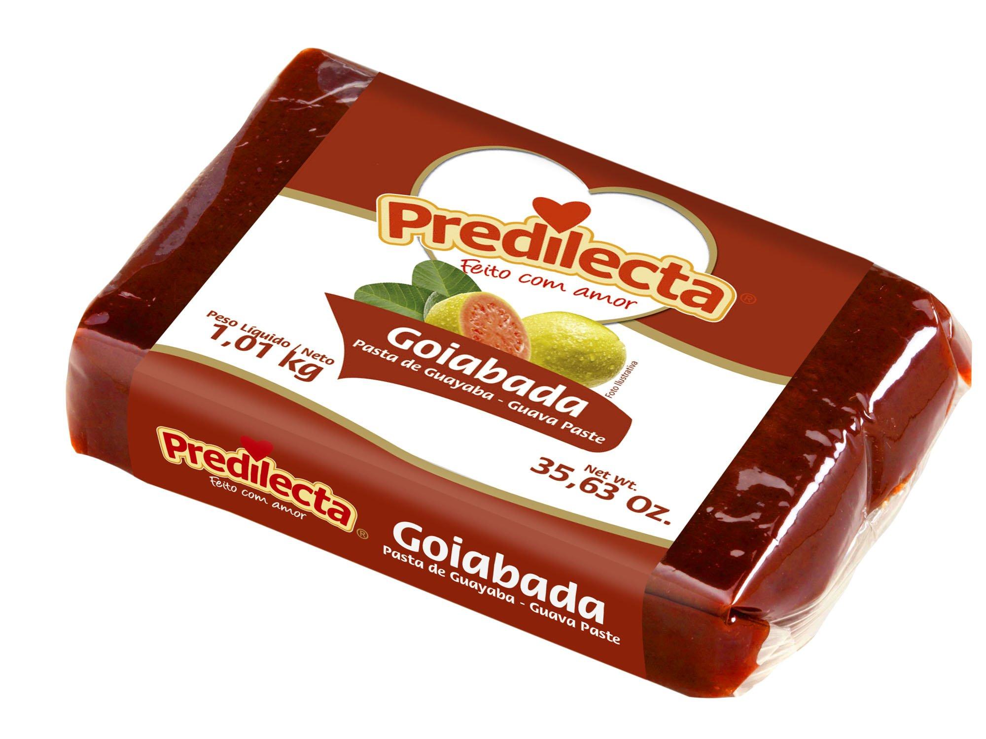 Predilecta Guava Paste - 35.63oz,Goiabada Predilecta - 1.01kg - (PACK OF 01)