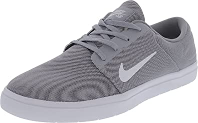 bff51f96d6988e Image Unavailable. Image not available for. Colour  Nike Men s SB Portmore  Ultralight Skate Shoe Wolf Grey White Cool ...