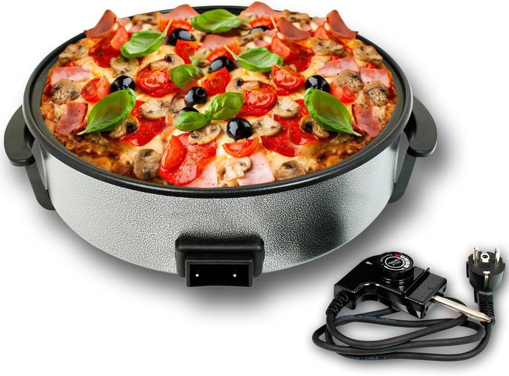 Eléctrica sartén pan pizza Partypfanne múltiples pan 9 cm de ...