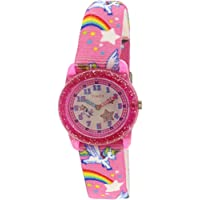 Girl's Unicorn TW7C25500 Pink Nylon Japanese Quartz Fashion Watch