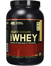Optimum Nutrition 100% Whey Protéine Gold Standard, Vanille Française, Whey Isolate, 908 g
