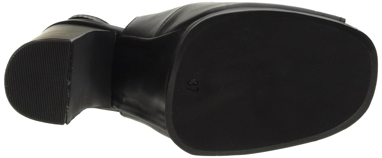 Jeffrey Campbell Damen Damen Damen Michlene Leather Absatzschuhe mit Offener Zehe 189000