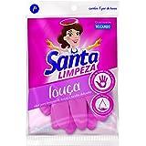 Luva Louça Santa Limpeza P, Santa Limpeza, Rosa