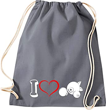 Camiseta stown Turn Bolsa verduras I Love Tomate, gris ...