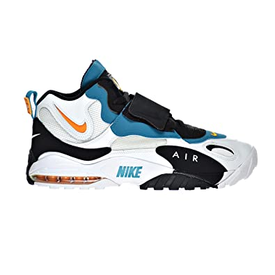 the latest 95b0f 0e30f Nike Air Max Speed Turf Men s Shoes White Industrial Orange Black 525225-100