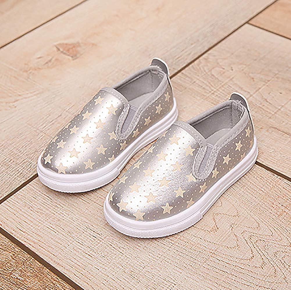 UBELLA Kids Toddler Girls Loafers Casual Slip On Flat Dress Shoes Toddler//Little Kid//Big Kid