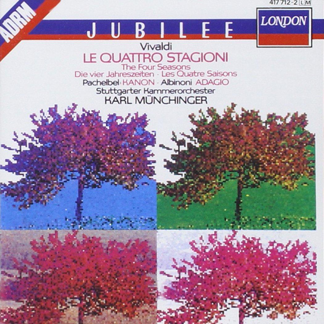 Vivaldi: Le Quattro Stagioni (The Four Seasons); Pachelbel: Canon; Albinoni: Adagio for Strings and Organ by Polygram Records