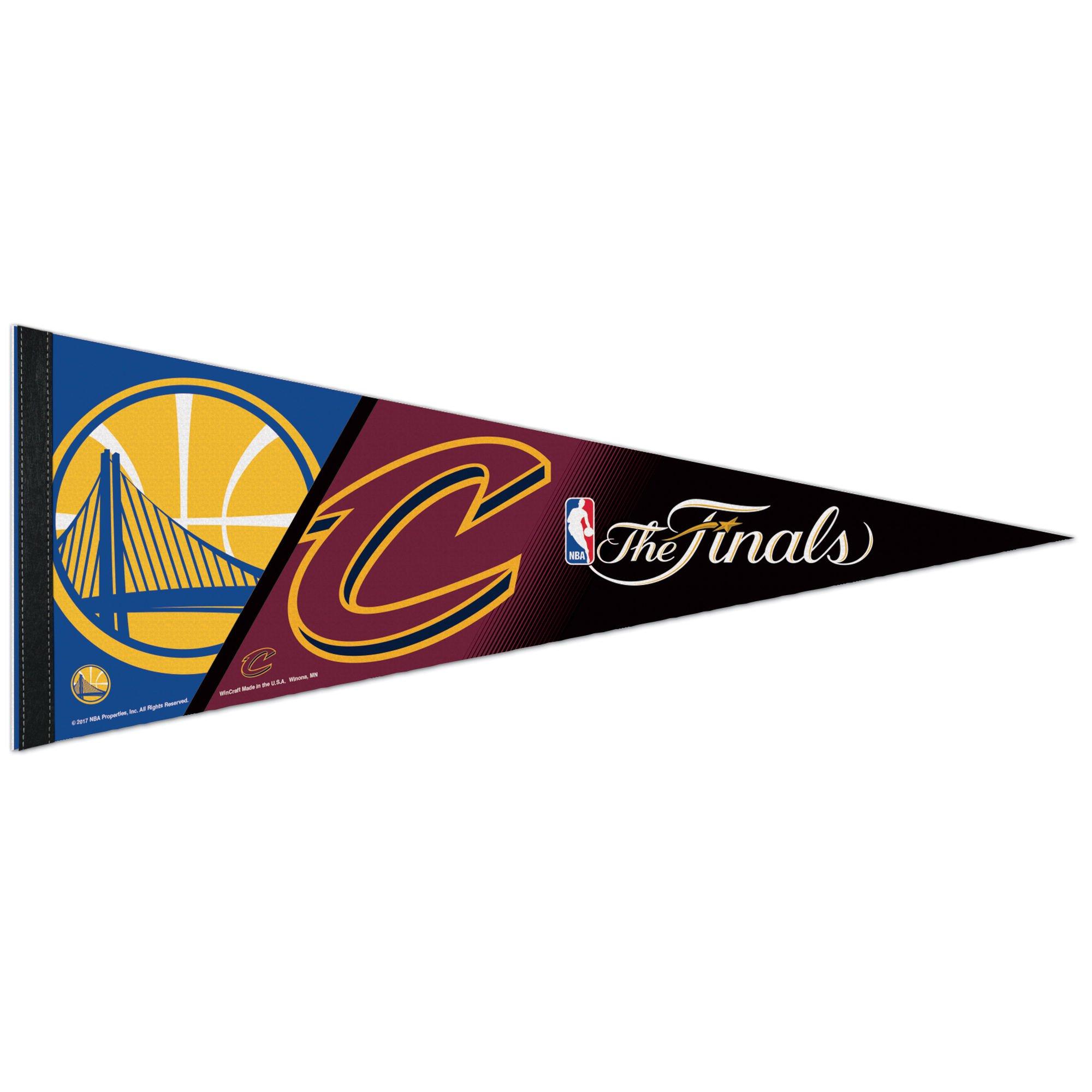 WinCraft Golden State Warriors 2017 NBA Finals Dueling Team Pennant Flag