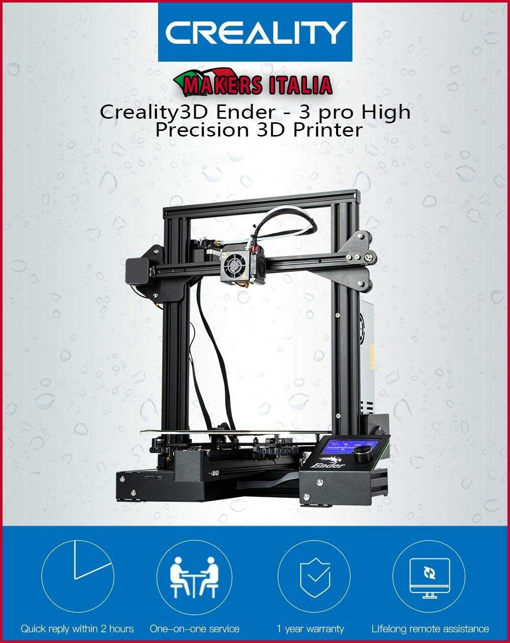 MAKERS ITALIA Creality 3D® Ender - 3 Pro: Amazon.es: Electrónica