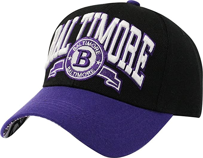 eb4676d5 ChoKoLids Baltimore City Team Cap Hats Beanie Snapback (Baseball Cap ...