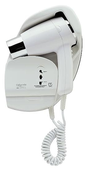 JVD - Secador para Hotels - Modelo Odyssee con toma afeitadora bi-tension - ref. 822107: Amazon.es: Salud y cuidado personal