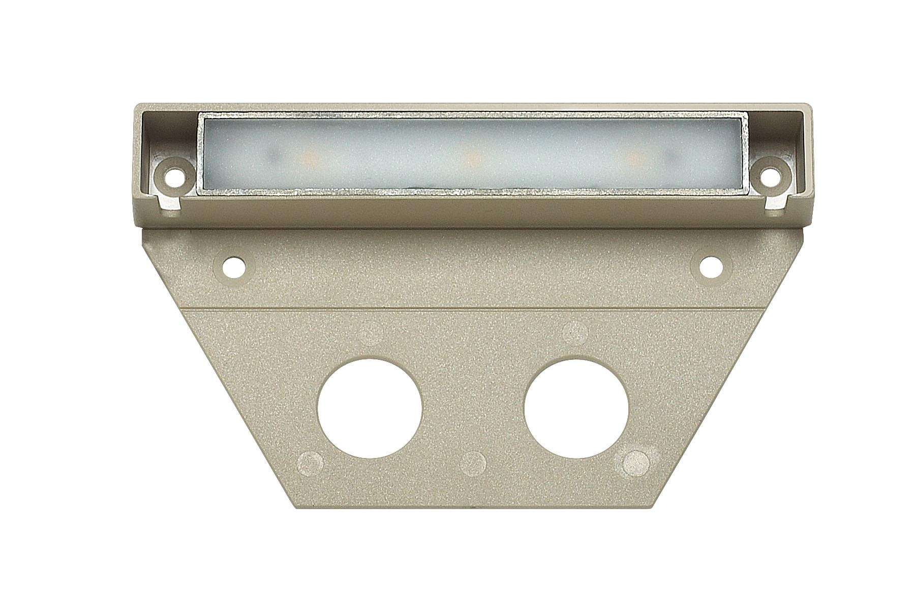 Hinkley Landscape Lighting NUVI Landscape Deck Light - Hardscape Light Highlights Important Hardscape Features and Surfaces and Increases Home Security - Medium Size, Sandstone Finish