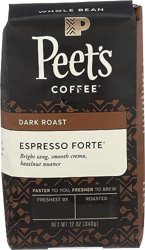 Peet's Coffee Espresso Forte Dark Roast Whole Bean Coffee