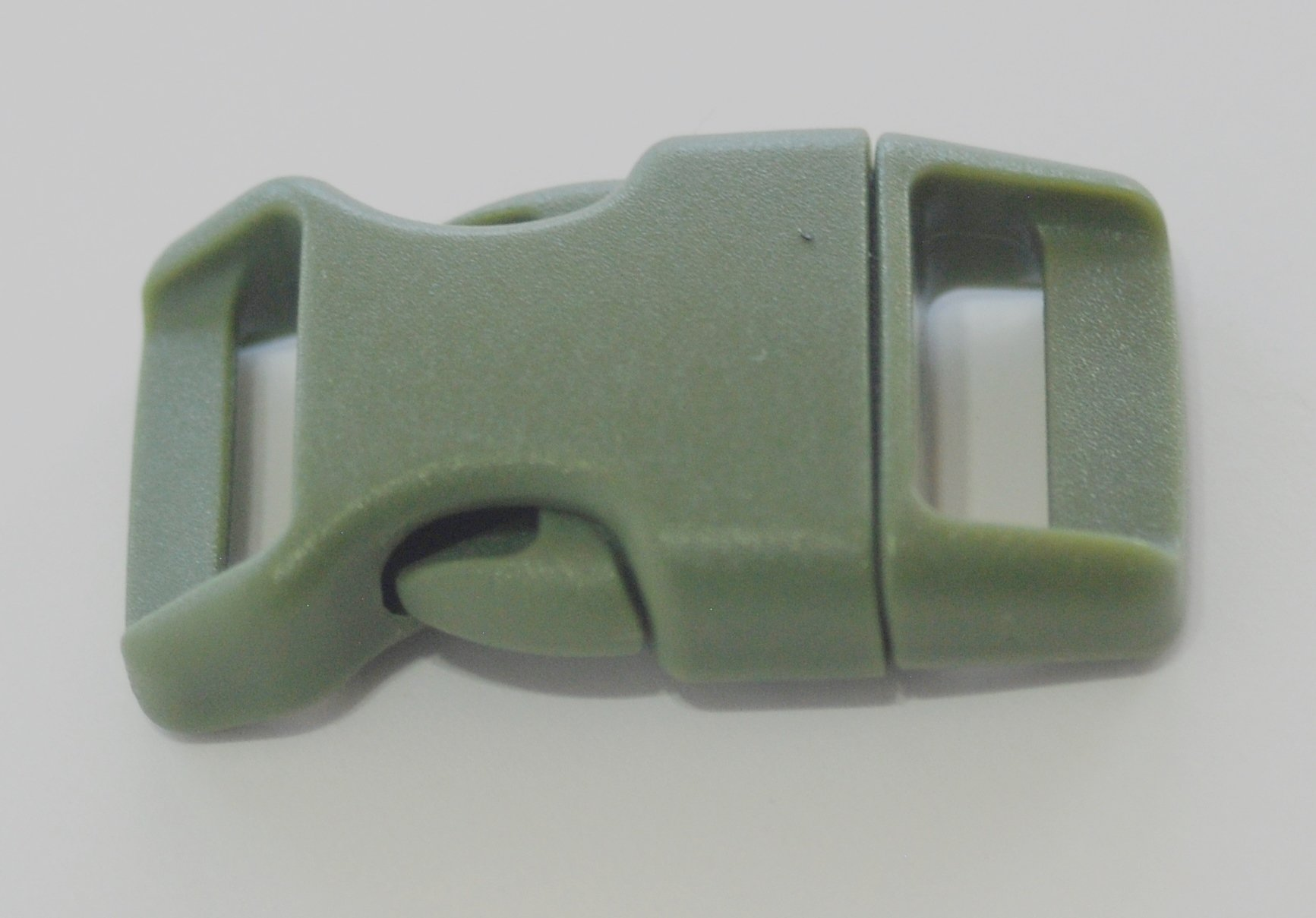 5/8'' Contoured Side Release Buckles for Paracord Bracelets Multiple Size and Quantity (olive drab, 10 pack)
