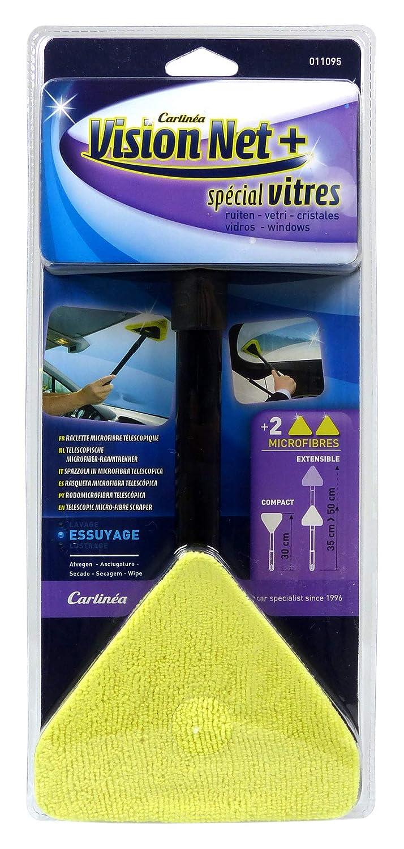IMPEX SAS Carlinea 011095 Vision Net Raclette Microfibre T/élescopique