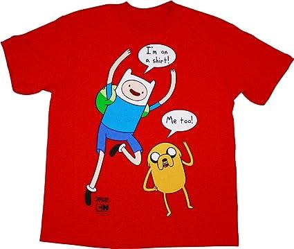 Amazon Com I M On A Shirt Adventure Time T Shirt Clothing