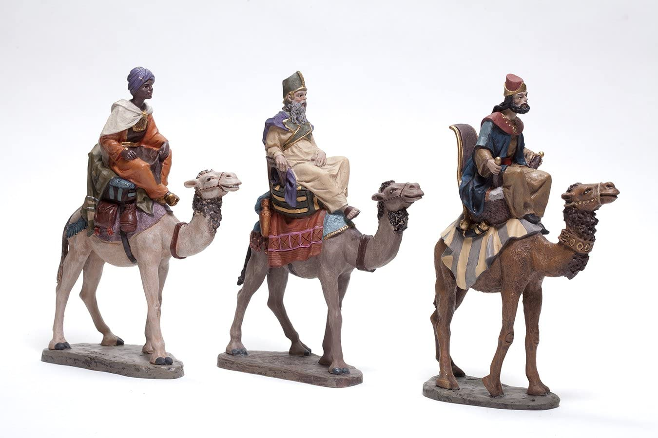 Triciclo Editores Figuras de Rey Melchor, Gaspar y Baltasar en Camello.BEL955