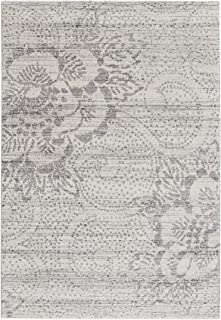 "product image for Channel Grey 3' 11"" x 5' 6"" Rectangle Machine Woven Rug"