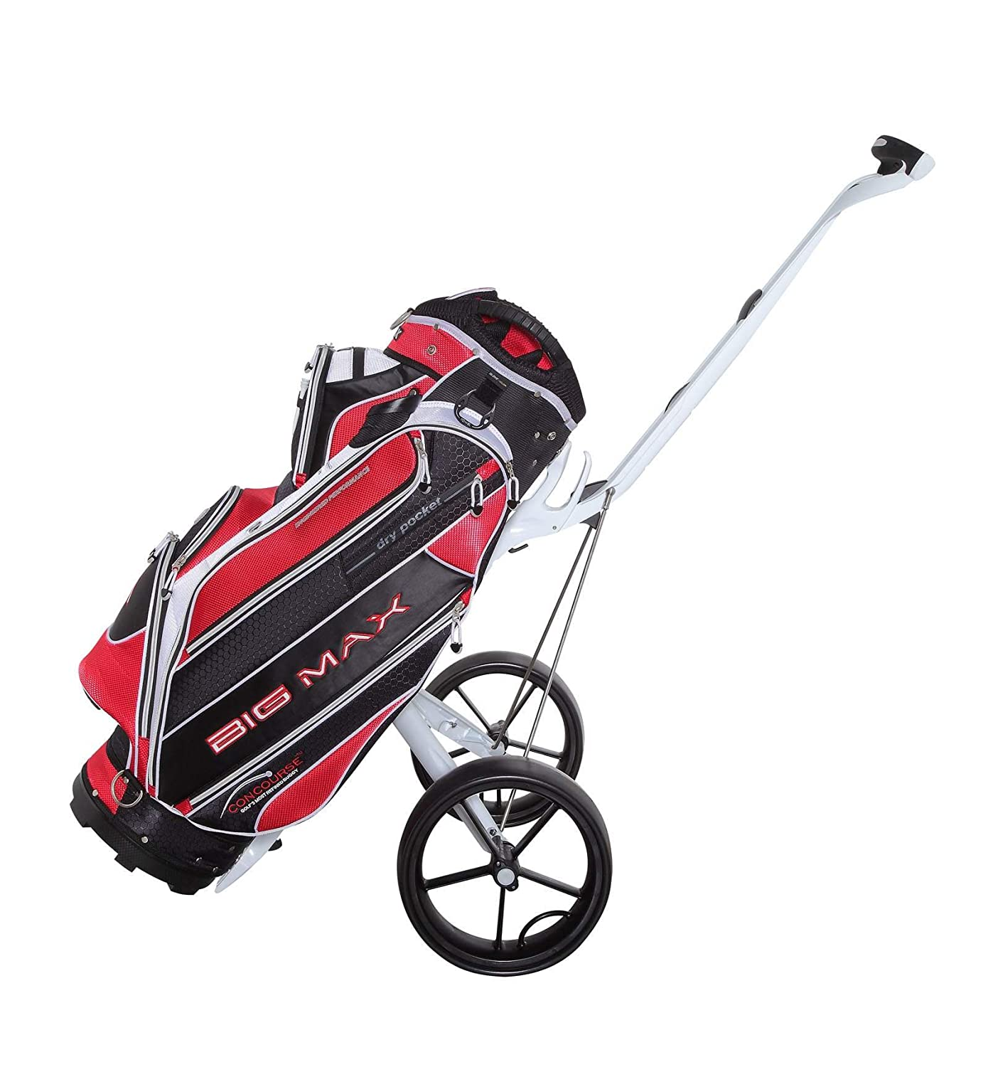 bef760225b59 Big Max Concourse Golf Trolley Bag New Colour: black, white red ...